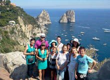 Tour of Capri Island